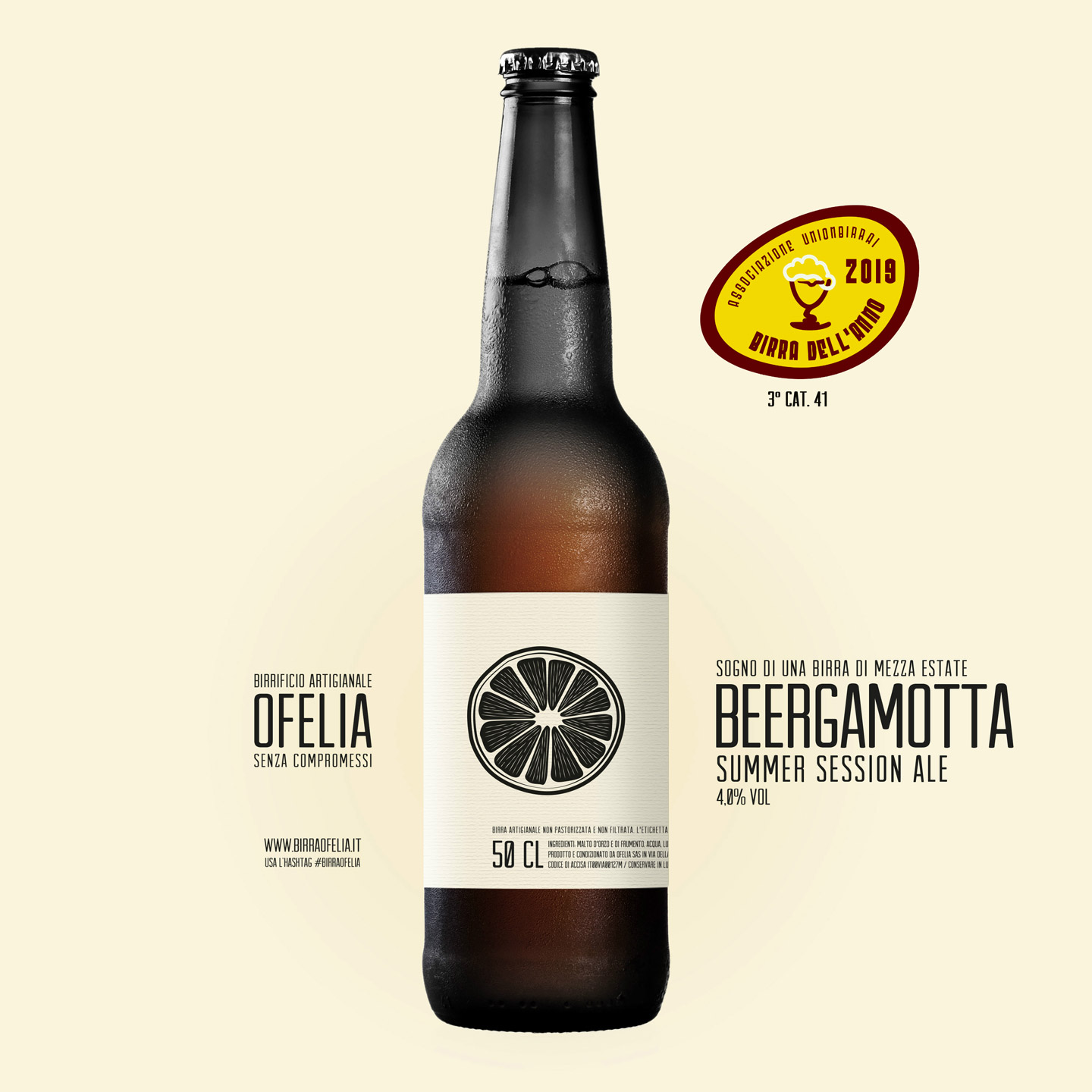 summer session ale beergamotta ofelia