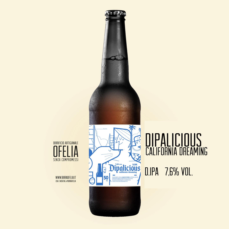 birra ofelia dipalicious bottiglia